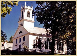 Church on The Hill located in beauitful Weston, Vermont
